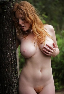 Teen true redhead pale big boobs tits amateur sexy gf ex unshaved hairy pussy.